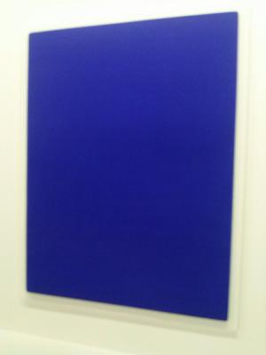 pakeha relief ponge bleue yves klein. Black Bedroom Furniture Sets. Home Design Ideas